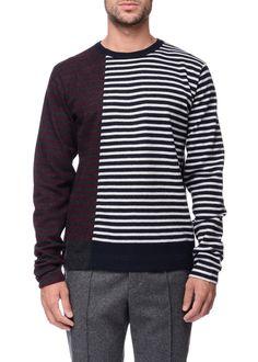 Marni - Menswear - FW16 // Striped sweater in wool