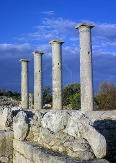 Old Greek Ruins In Cyprus Island Royalty Free Stock Photo, Pictures ...