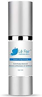 Instant Lifting Formula - Le Fair Anti-Aging Face Cream - Eliminates Fine Lines, Puffiness, Dark Circles & Bags - Wrinkle Cream with Peptides, Vitamin C & Skin Nourishing Botanicals - Face Lift Cream Facial Skin Care, Anti Aging Skin Care, Collagen Fillers, Combination Skin Care, Eye Cream For Dark Circles, Best Anti Aging Creams, Skin Cream, Facial Cream, Tips