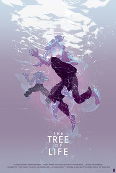 The Tree Of Life Movie Poster Mondo Purple by Tomer Hanuka