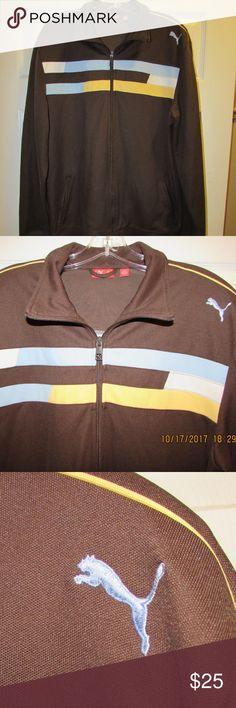 Mens Large PUMA Jacket Retro Look Very nice PUMA jacket in excellent condition. Puma Jackets & Coats Performance Jackets