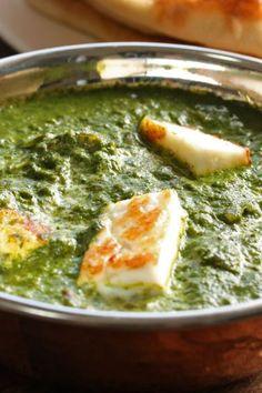 Palak Paneer at The Green Kitchen