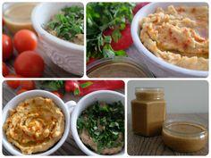 PASTA TAHINI  Składniki:      400 g sezamu     ½ szklanki oleju roślinnego np. oliwy z oliwek  Wykonanie:      sezam przesyp na blachę wyłożoną pergaminem     praż w piekarniku około 15 min w 180°C mieszając co kilka minut     uprażony sezam przerzuć do wysokiego naczynia i zblenduj z dodatkiem oleju roślinnego  Po więcej udaj się na: http://kreatorniazmian.pl/przepisy-pasta-tahini/