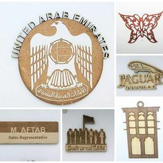 Different cuts, designs and engraved made of wood by trotec laser machine. Visit our website www.tarkeez.net Email us at info@tarkeez.net