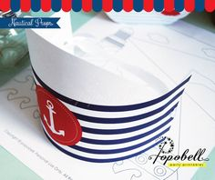 Nautical Props for Nautical Birthday Party. Perfect for a