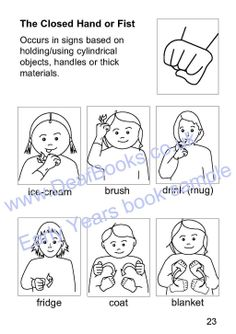 BSL classifying handshapes are important in compacting detail into sign units & part of BSL grammar