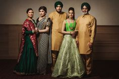 Punit and Gurmakh | Malton Gurdwara | Ontario Weddings | WeddingSutra
