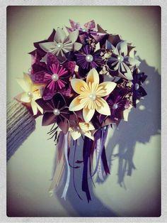 Paper Flowers Daisy Wedding Bouquet - Break Away, Toss Bouquet £55.00