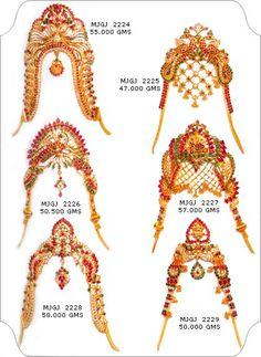Jewellery Designs: 22 Carat Armlet/vanki Designs From Manepally jewel...