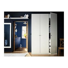 PAX Wardrobe with interior organizers IKEA 10-year Limited Warranty. Read about the terms in the Limited Warranty brochure. #HomeAppliancesBrochure