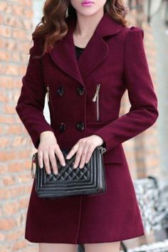 Pierre Balmain double breasted coat | Womens Coats | Pinterest ...