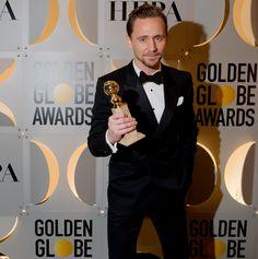 The 2017 Golden Globes   Tom Hiddleston