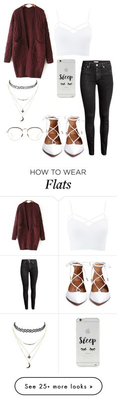 """""""poppin"""" by motelmoney on Polyvore featuring Charlotte Russe, WithChic, Forever 21, Linda Farrow and plus size clothing"""