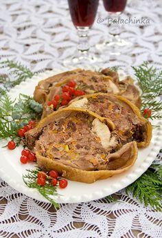 Rooster Galantine on http://palachinkablog.com