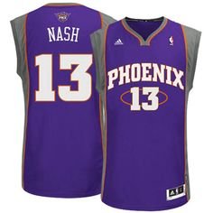 988f75fde443 Discover the Steve Nash Phoenix Suns Revolution 30 Swingman Purple Jersey  Super Deals collection at Footseek. Shop Steve Nash Phoenix Suns Revolution  30 ...