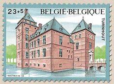 Belgian Stamps Solidarity - Castels. Turnhout