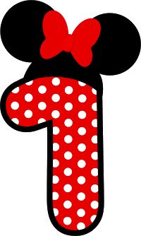Mickey or Minnie Minnie Y Mickey Mouse, Theme Mickey, Mickey Mouse Outline, Minnie Mouse Birthday Invitations, Mickey Mouse Birthday, Decoration Minnie, Birthday Numbers, Diy And Crafts, Superman Clipart