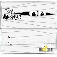 Custom Candy Bar Wrappers for Hershey Chocolate Bars. We offer DIY wrappers or fully assembled wrappers with hershey chocolate bars. Hershey Chocolate Bar, Hershey Bar, Halloween Party Favors, Custom Candy, Candy Bar Wrappers, Custom Eyes, Blog, Paper, Diy