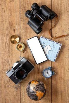 Download this Tourism items assortment flat lay Free Photo, and discover more than 11 Million Professional Stock Photos on Freepik. #freepik #photo #travel #trip #passport