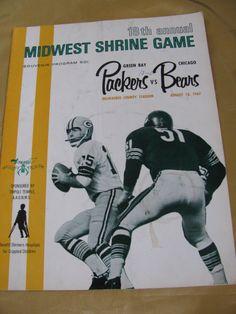 Green Bay Packers Chicago Bears Program