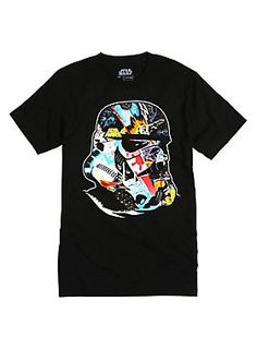 The force is strong with this Star Wars Stormtrooper tee.