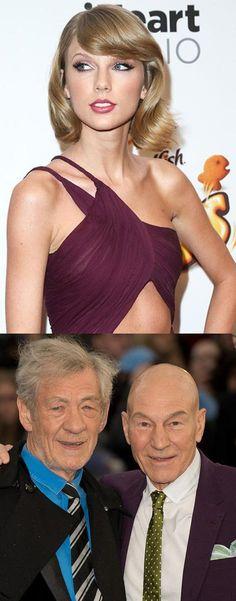 You've never heard Taylor Swift music until you've heard Sir Ian McKellen and Patrick Stewart sing it