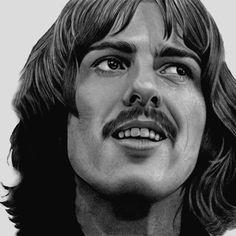 George Harrison by PamelaKaye on DeviantArt