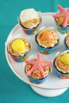 Under the sea cupcakes!!!