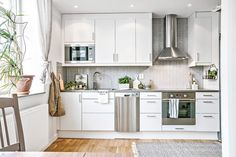 cocina blanca pequeña blog decoración nórdica decoración pisos pequeños decoración mini pisos decoración femenina decoración en blanco estilo nórdico escandinavo