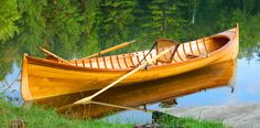 One of my favorite boats, the Adirondack Guideboat. -CW-