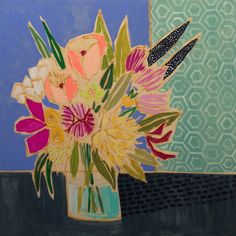Flower paintings by Lulie Wallace