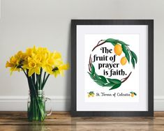 Mother Teresa Quote Print The Fruit of Prayer is Faith   Etsy Catholic Quotes, Catholic Art, Saint Teresa Of Calcutta, Quote Prints, Art Prints, Saints, Mother Teresa Quotes, Saint Quotes, Color Calibration