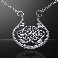 Peter Stone Celtic Knotwork Silver Necklace                                                                                                                                                      Mehr