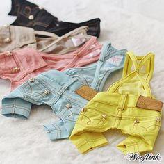 ♥ WOOFLINK ♥ Shop online - Hip & cool designer dog clothes and much more....me encantan