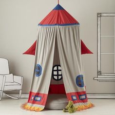 Fancy - Rocket Ship Play Tent