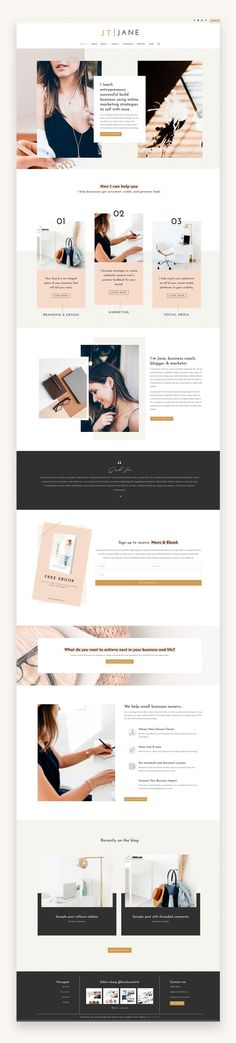 Jane is a modern and elegant Business Divi Child theme designed for creating websites for professionals who offer services such as coaching, consulting, and freelancing.