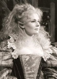judi dench, playing Titania in A Midsummer Night's Dream, 1962 RSC