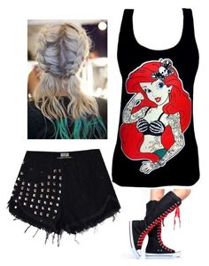 """""""Punk again"""" by mayjoridy ❤ liked on Polyvore featuring Disney"""
