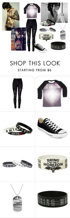 """""""For Le Friend~~"""" by babycakesgiggles ❤ liked on Polyvore featuring Sykes, Converse, women's clothing, women, female, woman, misses and juniors"""