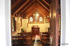 The Smallest Church in America (interior.)