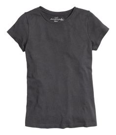 CONSCIOUS. Relaxed-fit T-shirt in soft organic cotton jersey.