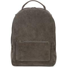 Yeezy Season 5 backpack (€505) via Polyvore featuring bags, backpacks, grey, gray bag, grey backpack, zip backpack, unisex bags und grey bag