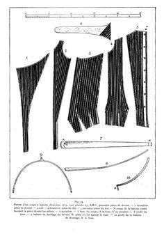 monscrapenplumes: Projet XVIIIème : le corps semi-baleiné (2)