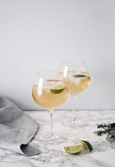 Winter gin cocktail ideas - Gin Ginger liqueur (The King's Ginger works well) Ginger ale A fresh lime Method  Pour one measure of gin and one measure of ginger liqueur into a copa glass, add ice cubes, and top up with ginger ale. Squeeze in a little juice from the lime, and then add a lime wedge to garnish