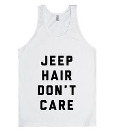 Jeep hair without a care in the world because Jeeps are awesome!#Carefree