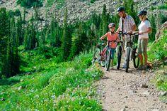 Family Biking day at Snowbasin