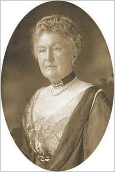 Caroline Lamson Brown, of Belmont, was the last passenger to step off the deck of the Titanic into a life boat.