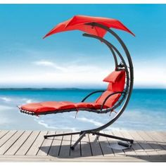 Blissfull Summer Days-This Delano Dream Chair Chaise Lounge is the pinnacle of outdoor style and comfort. This adjustable lounge chair features beige colored fabric and a powder-coated bronze on the metal. Living Pool, Outdoor Living, Indoor Outdoor, Outdoor Decor, Beach Chairs, Pool Chairs, Swing Chairs, Blue Chairs, Lounge Chairs