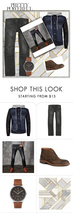 """""""Set 2"""" by sanc15 ❤ liked on Polyvore featuring Philipp Plein, Trask, Timex, men's fashion and menswear"""