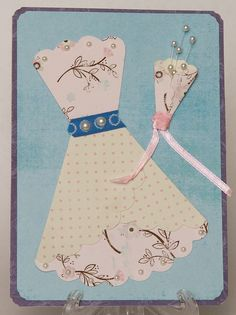 Do You Want to Play Dress-Up With Me? (Versatile Scallops Day 5)   Krista's Paper Cafe   Hand Made Cards & Paper Crafts